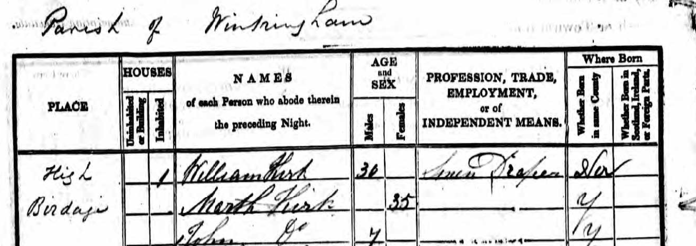 William Kirk 1841